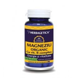 Magneziu Organic (60 capsule)