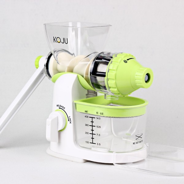 Storcator manual prin presare la rece KOJuicer BPA free