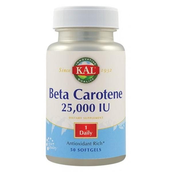 Beta Carotene 25000 UI (50 capsule)