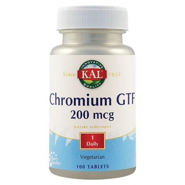Chromium GTF 200mcg (100 tablete)