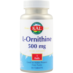L-Ornithine 500 mg  (50 capsule)