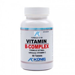Vitamina B Complex (60 tablete), Konig Laboratorium