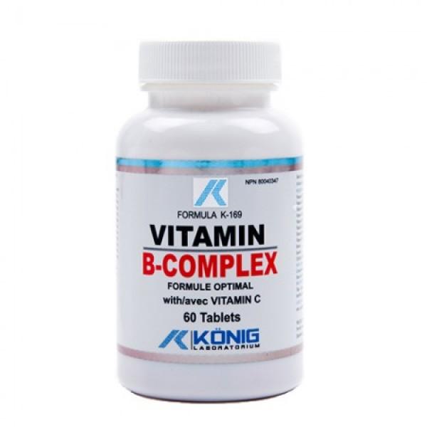 Vitamina B Complex (60 tablete), Konig Laboratorium