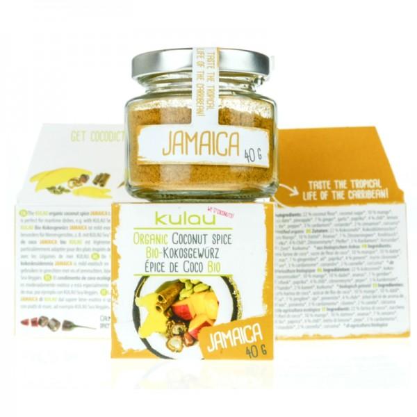 Condiment JAMAICA cu cocos bio (40 grame), Kulau