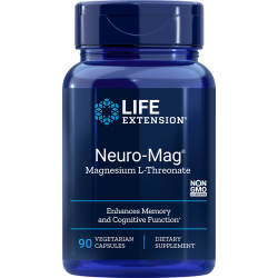 Neuro-Mag® Magneziu L-Threonate (90 capsule), LifeExtension