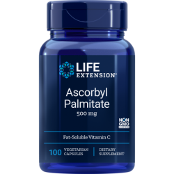 Ascorbyl Palmitate 500 mg (100 capsule), LifeExtension