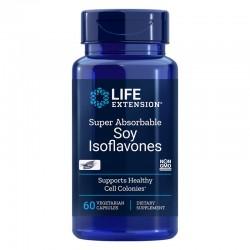 Super Absorbable Izoflavone din Soia (60 capsule), LifeExtension