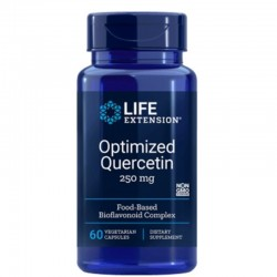 Optimised Quercetin  250 mg (60 tablete), Life Extension