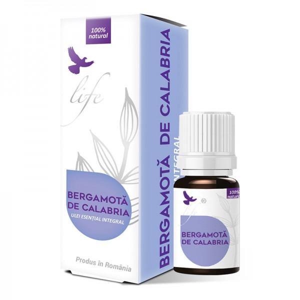 Ulei esential de Bergamota de Calabria (5 ml), Life Bio
