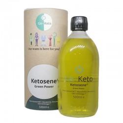 Go-Keto Ketosene® Green Power Ulei MCT cu Omega 7, Avocado și Ulei de Macadamia  (500 ml), LifeExtension