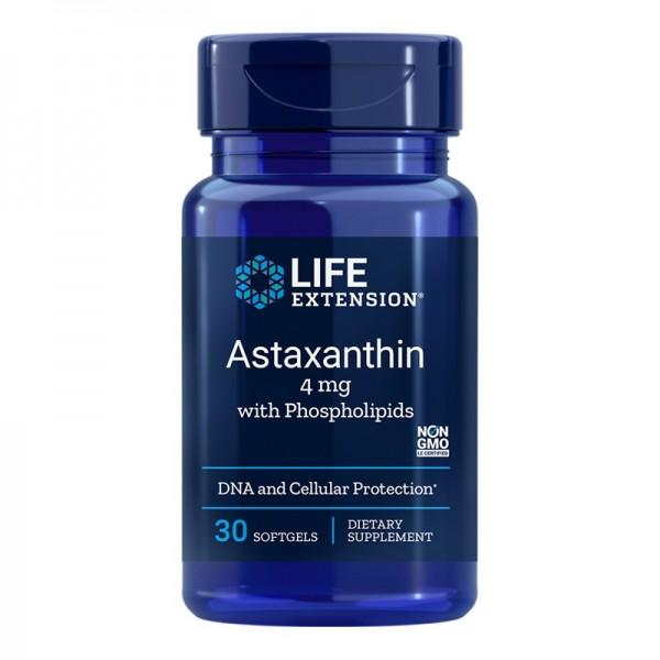 Astaxanthin cu Fosfolipide (30 capsule), LifeExtension