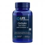 CinSulin® cu InSea2® și Crominex® 3+ (90 capsule), LifeExtension