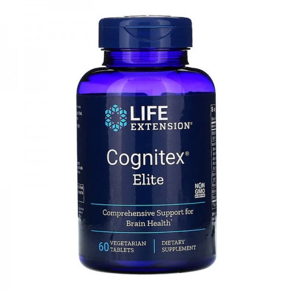 Cognitex® Elite formula pentru sanatatea creierului (60 tablete), LifeExtension