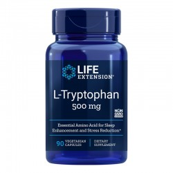 L-Tryptophan 500 mg (90 capsule), LifeExtension