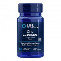Zinc (60 tablete masticabile), LifeExtension