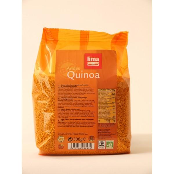 Quinoa bio (500 grame), Lima