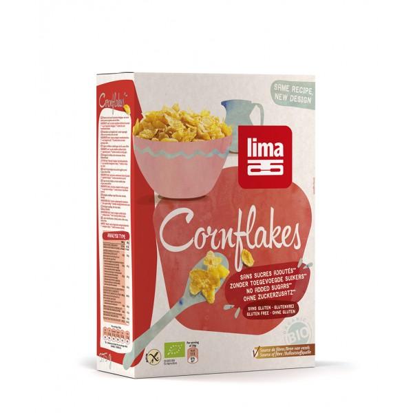 Fulgi de porumb bio (375 grame), Lima