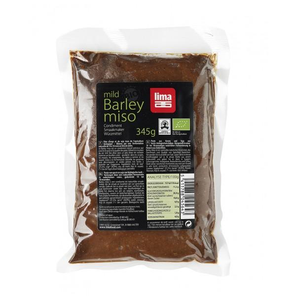 Pasta de soia Miso cu orz bio (345 grame), Lima