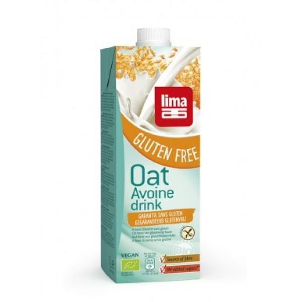Lapte de ovaz fara gluten bio (1 L), Lima