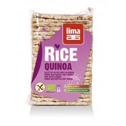 Rondele de orez expandat cu quinoa bio (130 grame), Lima