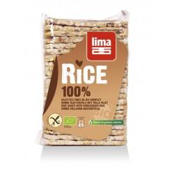 Rondele de orez expandat cu sare bio (130 grame), Lima