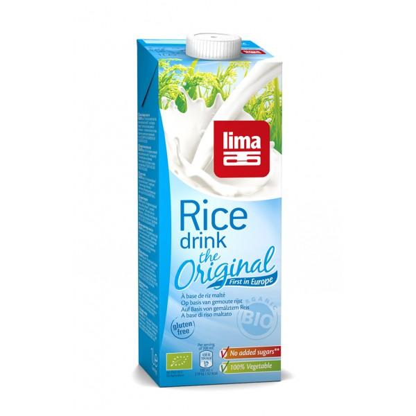 Lapte de orez Original bio (1 litru), Lima