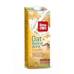 Lapte de ovaz cu vanilie bio (1 L), Lima