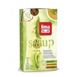 Supa crema de mazare cu miso si orez bio (1 litru), Lima