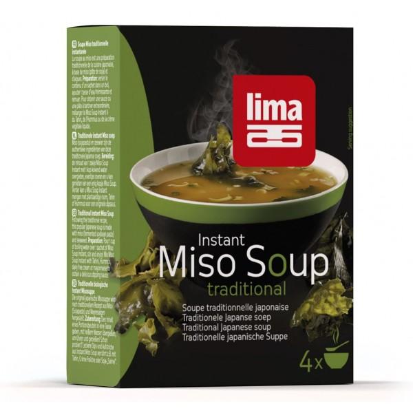 Supa Miso instant (4x10g), , Lima