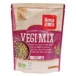 Vegi mix spelta, orez, ovaz si legume bio (250 grame), Lima