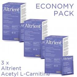 Economy Pack 3 x Altrient Acetyl L-Carnitine (30 pliculete), LivOn Labs