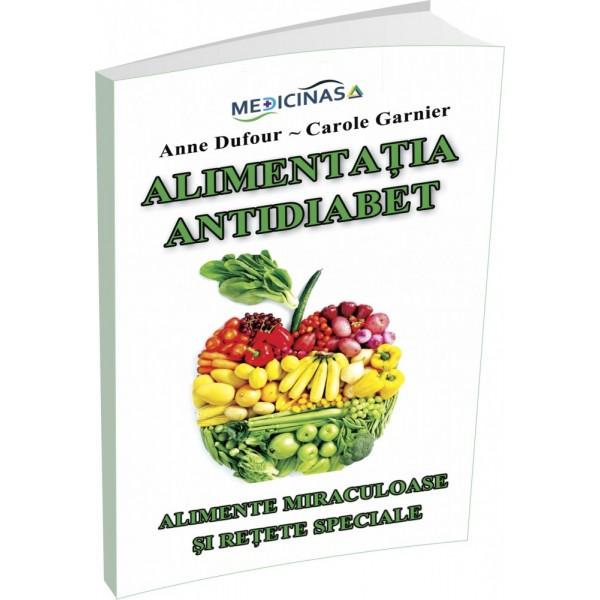 Alimentatia antidiabet, Anne Dufour, Carole Garnier (carte)
