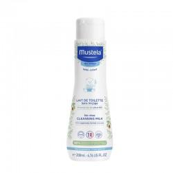 Lapte de curatare fara clatire (200 ml), Mustela