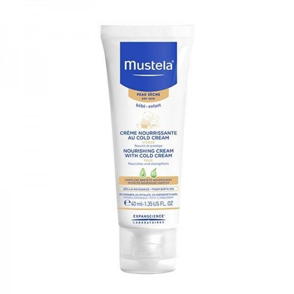 Crema nutritiva cu cold cream (40 ml), Mustela
