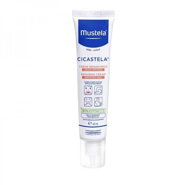 Cicastela Crema dermo-reparatoare, piele iritata (40 ml), Mustela
