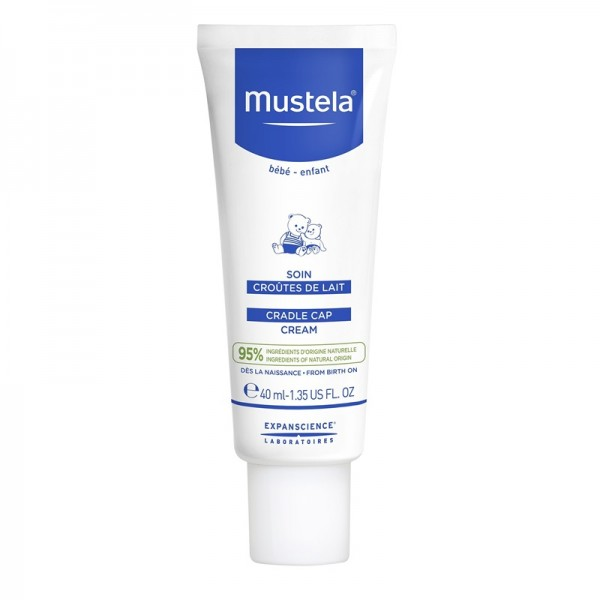 Crema tratament pentru scuamele de lapte (40 ml), Mustela
