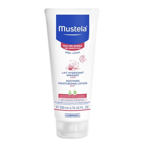 Lotiune hidratanta calmanta pentru piele sensibila (200 ml), Mustela