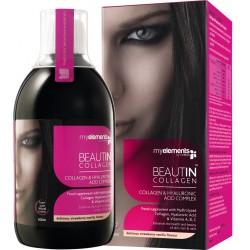 Beautin Colagen lichid cu Capsuni si Vanilie (500 ml)