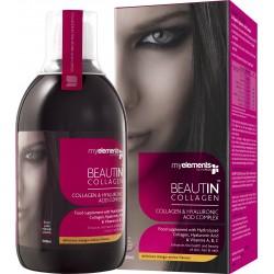 Beautin Colagen lichid cu Mango si Pepene Galben (500 ml)