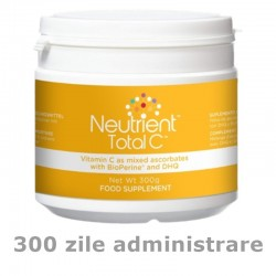 Vitamina C pulbere 1000mg - Neutrient Total C 300g)