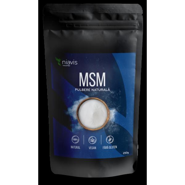 MSM pulbere 100% naturala (250 grame)