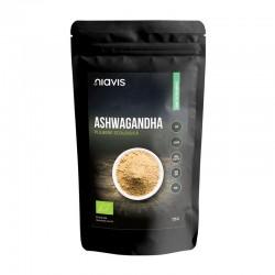 Ashwagandha pulbere ecologica/BIO (125 grame), Niavis