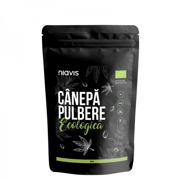 Canepa pulbere ecologica/BIO (250 grame), Niavis