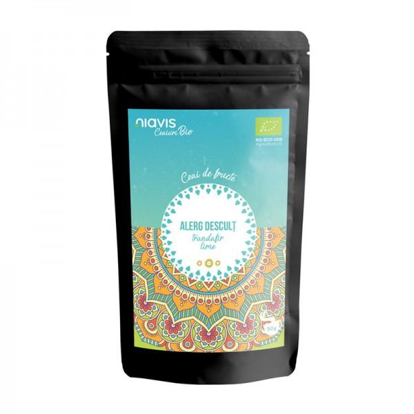 "Ceai ecologic/BIO ""Alerg Descult"" (50 grame), Niavis"