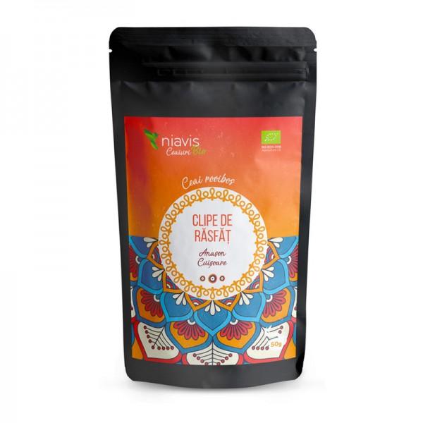 "Ceai ecologic/BIO ""Clipe de Rasfat"" (50 grame), Niavis"