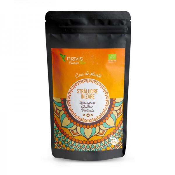 """Ceai ecologic/BIO """"Stralucire in Zare"""" (50 grame), Niavis"""