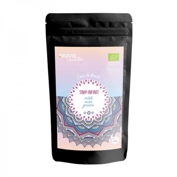 "Ceai ecologic/BIO ""Timp Infinit"" (50 grame), Niavis"