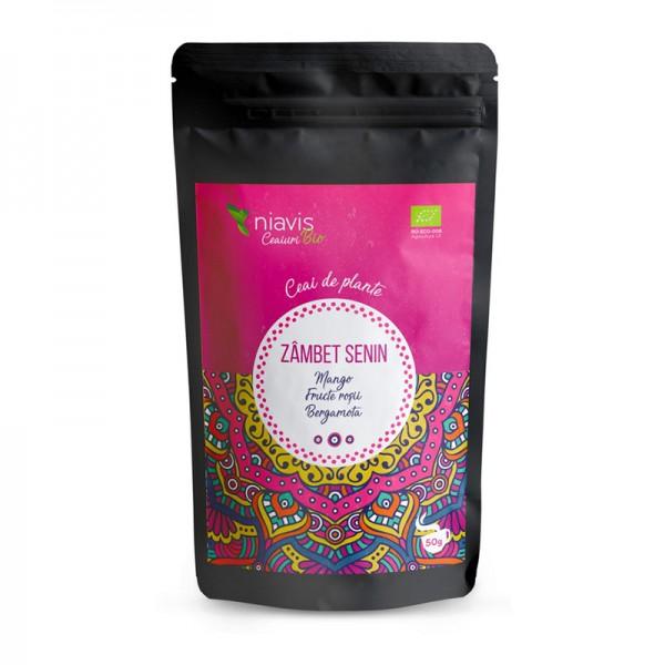 "Ceai ecologic/BIO ""Zambet Senin"" (50 grame), Niavis"