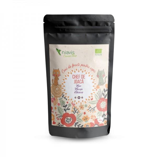 """Ceai pentru copii ecologic/BIO """"Chef de Joaca"""" (50 grame), Niavis"""