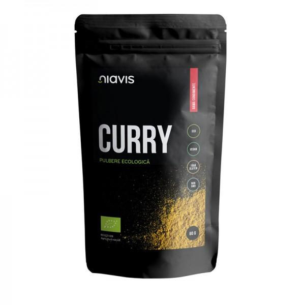 Curry pulbere ecologica/BIO (60 grame), Niavis